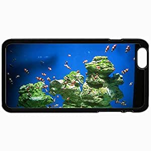 Customized Cellphone Case Back Cover For iPhone 6, Protective Hardshell Case Personalized Cpt Cape Town Waterfront Two Oceans Aquarium Black