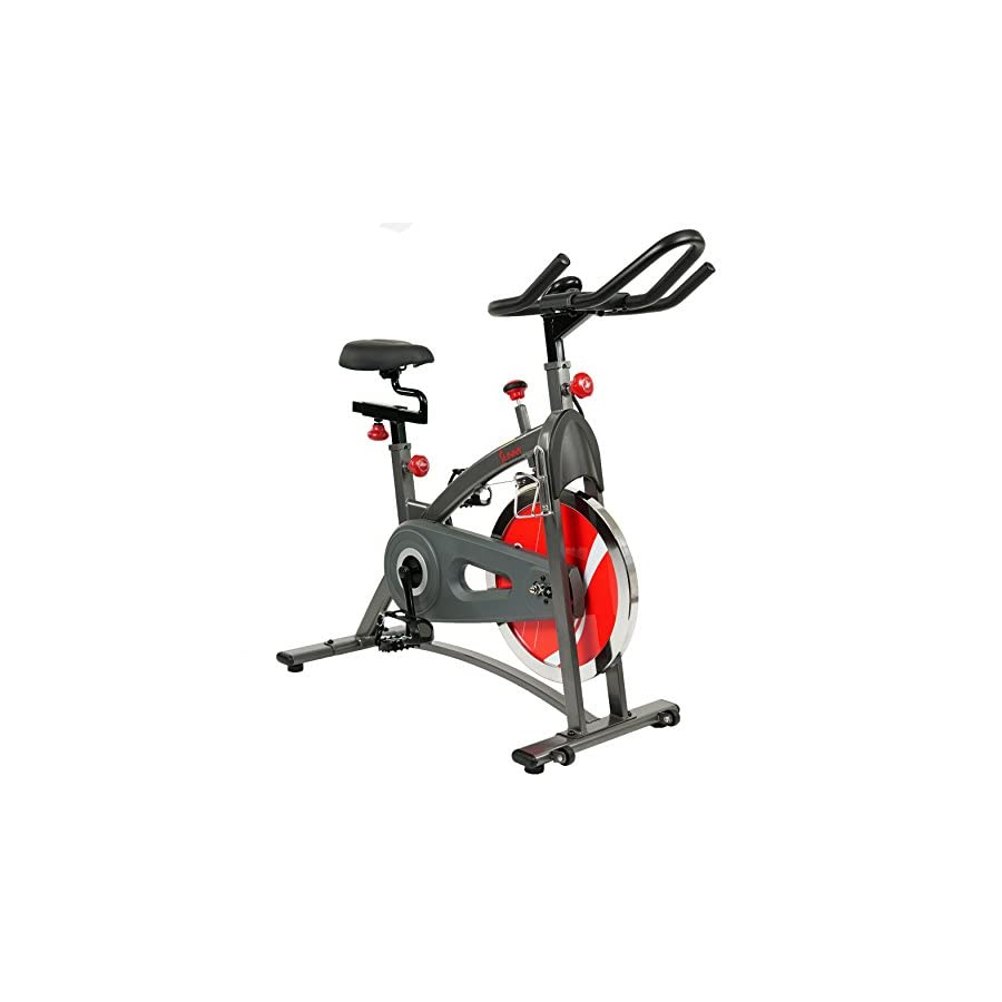 Sunny Health & Fitness SF B1423 Belt Drive Indoor Cycling Bike