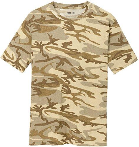 Joe's USA Camo Camoflauge Camo T-Shirt,Medium Desert Camo