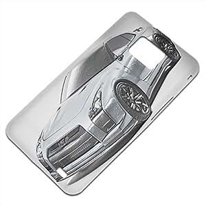 Coches 10069, Coche Moderno, Embossed Caso Carcasa Funda Duro Gel TPU Protección Case Cover, Diseño con Textura en Relieve para Samsung S2 i9100 i9200.
