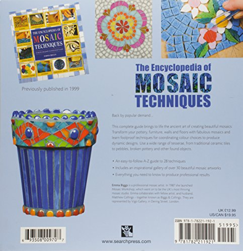 Encyclopedia of Mosaic Techniques by Search Press UK (Image #1)