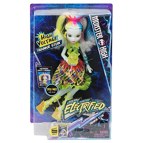 Monster High Electrified High Voltage Frankie Stein Doll (Monster High Frankie)