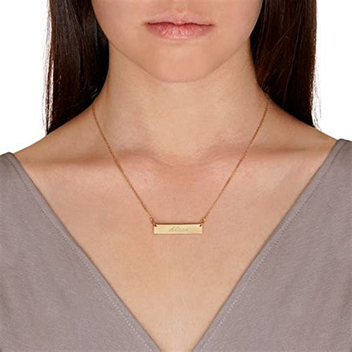 Womens Dainty Gold Chocker Necklace Pendant Handmade tainless Steel Couples Necklace