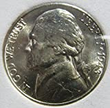 Uncirculated Silver War Nickel (1942-1945) Slabbed and Certified Authentic by VX Investments