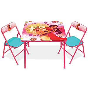Amazoncom Kids Activity Table and Chairs Set Disney