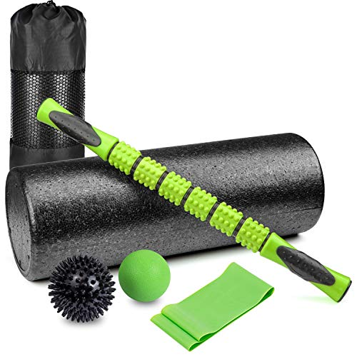 (6 in 1 Premium Massage Foam Roller Kit 18