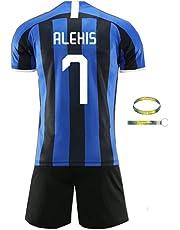 Daoseng 2019-2020 Tuta da Allenamento per Ragazzo Uniforme da Calcio T-Shirt a Maniche Corte + Pantaloncini