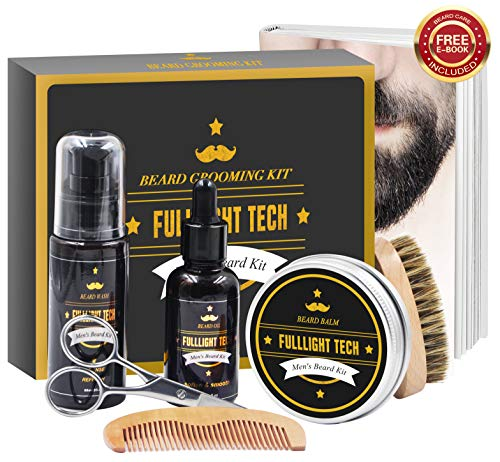 Beard Kit for Men Grooming & Care W/Beard Wash/Shampoo
