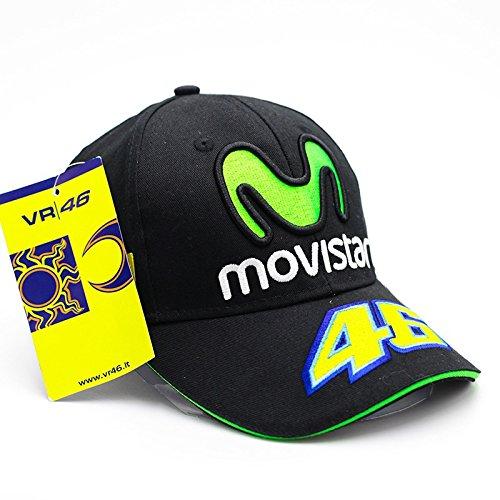 HYLong Moto Gp 46 Rossi Movistar Snapback Baseball Cap Hat Motorcycle Helmet Racing Cap Sport Glof for Nicky Hayden Sport Hat