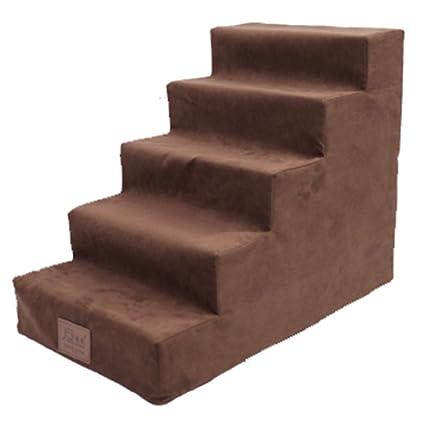 Escaleras Del Perro Para La Cama Alta, 5 Pasos De Perros ...