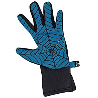 Amazon.com: Blue and Black Spider Web Easy to Grip Winter