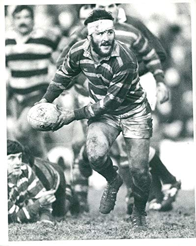 Born Player - Vintage photo of Ian Smith Scottish rugby player born 1903.