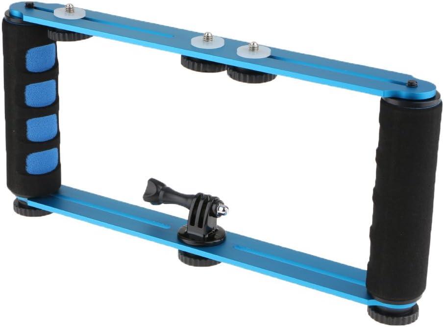 3 2 Almencla CNC Aluminum Extension Selfie Kit Holder for Hero 6 5 Session 4 3