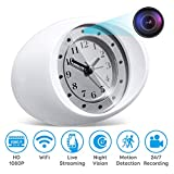 Omples Hidden Camera Spy Camera Security Nanny Cam with 1080P Full HD, WiFi, Night Vision, Motion Detection, Dedicated App, No Sound Recording