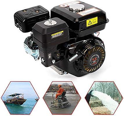 Motor de gasolina de 7,5 CV, 5,1 kW, refrigeración de aire forzado ...