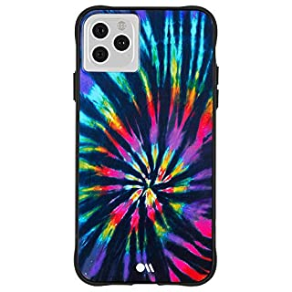 Case-Mate - iPhone 11 Pro Max Case - TIE DYE - Opaque Color Design - 6.5 - DIY Rainbow