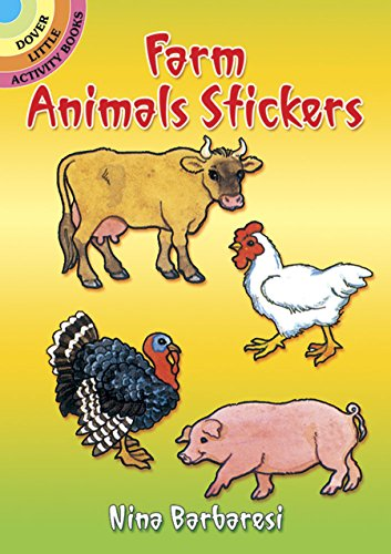 Farm Animal Stickers (Farm Animals Stickers (Dover Little Activity Books)