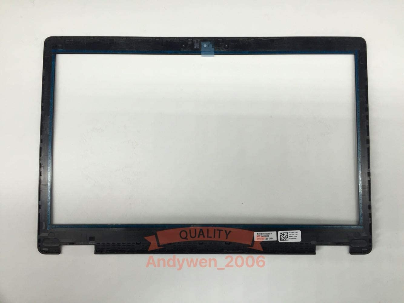 Compatible Replacement for DELL Latitude 5580 5590 5591 3520 3530 LCD Front Frame Bezel GPM65