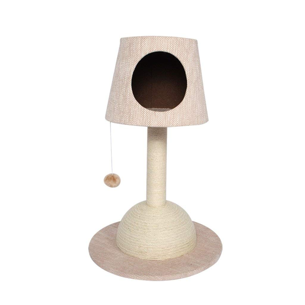 Deluxe Multi Cat Tower anial Cat Clibing Frae Sisal Grinding Claw ediu Cat Scratch Board Tree Cat Jup Cat Litter Cat House