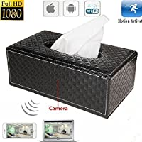 MATECam Wireless Camera Mini 1080P WIFI HD DVR Tissue Box Video Recorder
