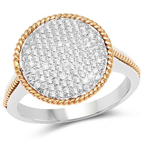 0.45 Ct Genuine Diamonds - 3
