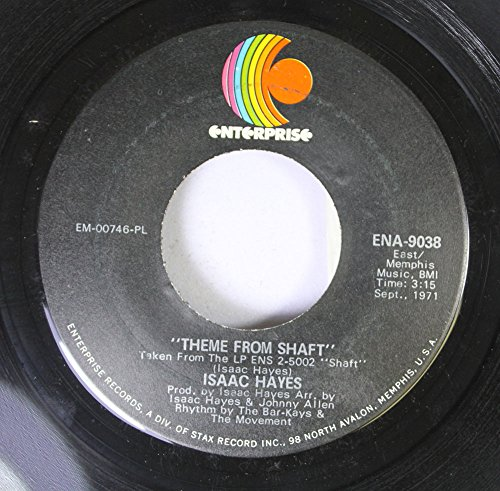 (Isaac Hayes 45 RPM Theme From Shaft / Cafe Regio's)