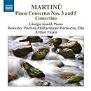 Martinu: Piano Concertos Nos. 3 & 5 / Concertino