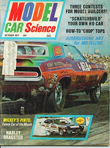 Model Car Science Magazine October 1971