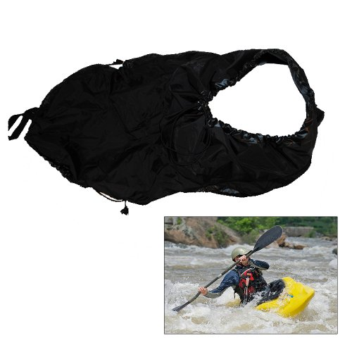 ATTWOOD MARINE Attwood Universal Fit Kayak Spray Skirt - Black / 11776-5 /