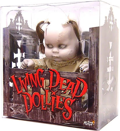 Living Dead Dolls Dollies - Mezco Toyz Living Dead Dollies #4 [Pig Tails & Tan Dress]