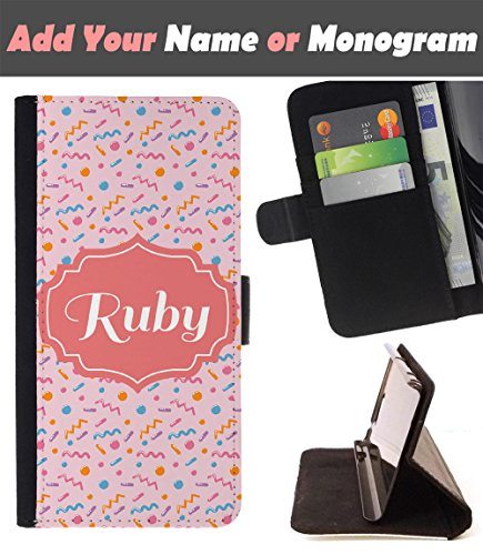 Customize Your Case    Huawei Nova   Personalized Monogram Name Leather Wallet Flip Cover   Pink Blue Dna Pills Medicine