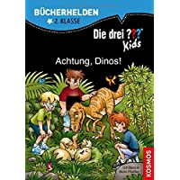 Die drei ??? Kids, Bücherhelden, Achtung, Dinos!