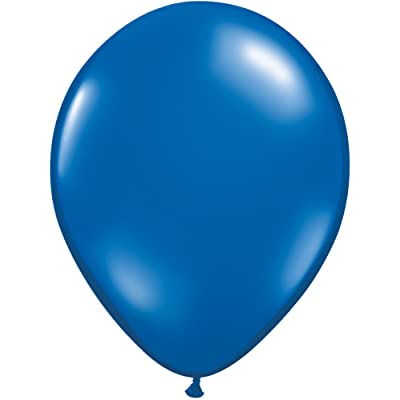 "Qualatex Latex Balloons 43793 SAPPHIRE BLUE, 11"": Kitchen & Dining"
