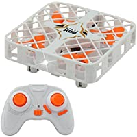Mini RC Quadcopter Drone 2.4G 4CH 6 Axis Gyro Headless Mode Remote Control One-key Return RC Toy with LED Night Light