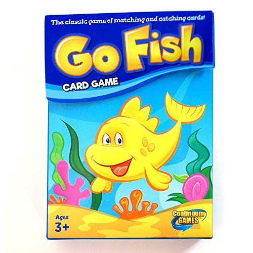 Continuum Games - Go Fish Classic Card Game, Fun for Children Age 3 and Up