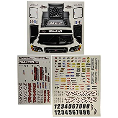 Traxxas 6813 Slash 4x4 Decal Sheet: Toys & Games