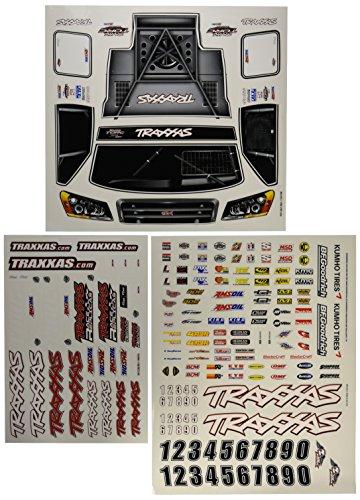 Traxxas 6813 Slash 4x4 Decal Sheet (Traxxas Model Rc)