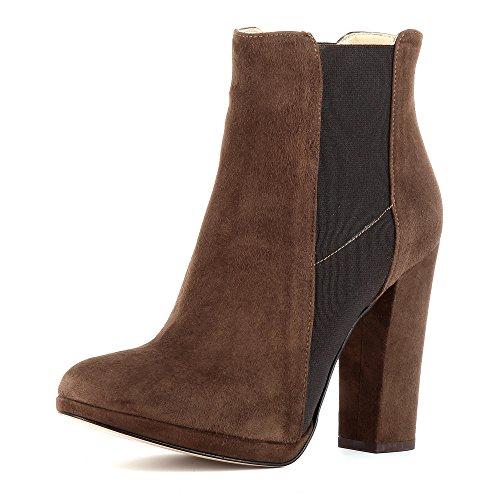 de Zapatos Evita ShoesEleonora Vestir marrón Mujer wv67qv