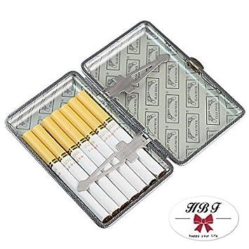 HABI Metall Zigarettenetui umweltfreundlich mit Gravur elegantem Aussehen und besonderem Qualit/äten