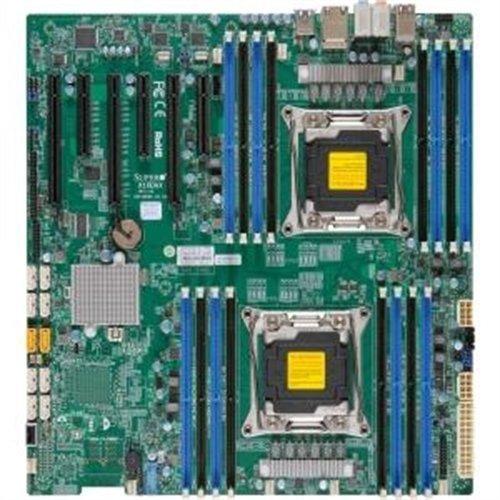 Supermicro Motherboard MBD-X10DAI-O LGA2011 E5-2600v3 C612 DDR4 PCI-Express SATA E-ATX Retail