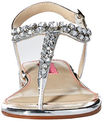 Dress Sandal Sulivann Silver Betsey Women Johnson nqz7wxtvYf