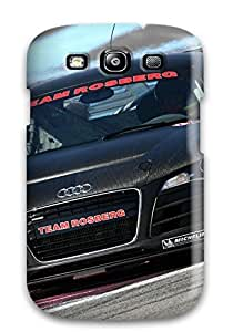 First-class Case Cover For Galaxy S3 Dual Protection Cover Audi R8 Lms 26