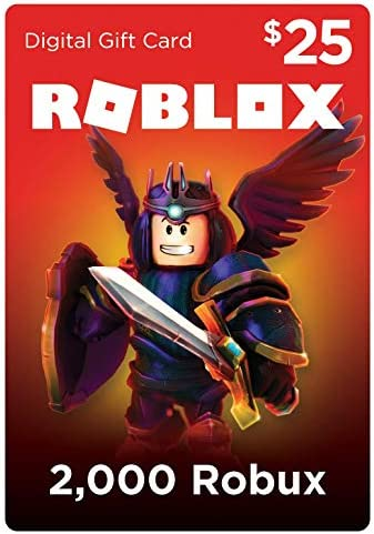 Amazoncom Roblox Gift Card 2000 Robux Online Game Code - cheapest place to get robux