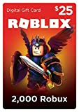 Video Games : Roblox Gift Card - 2,000 Robux [Online Game Code]