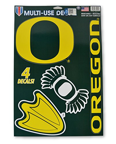 Official National Collegiate Athletic Association Fan Shop Licensed NCAA Shop Multi-use Decals (Oregon Ducks) -
