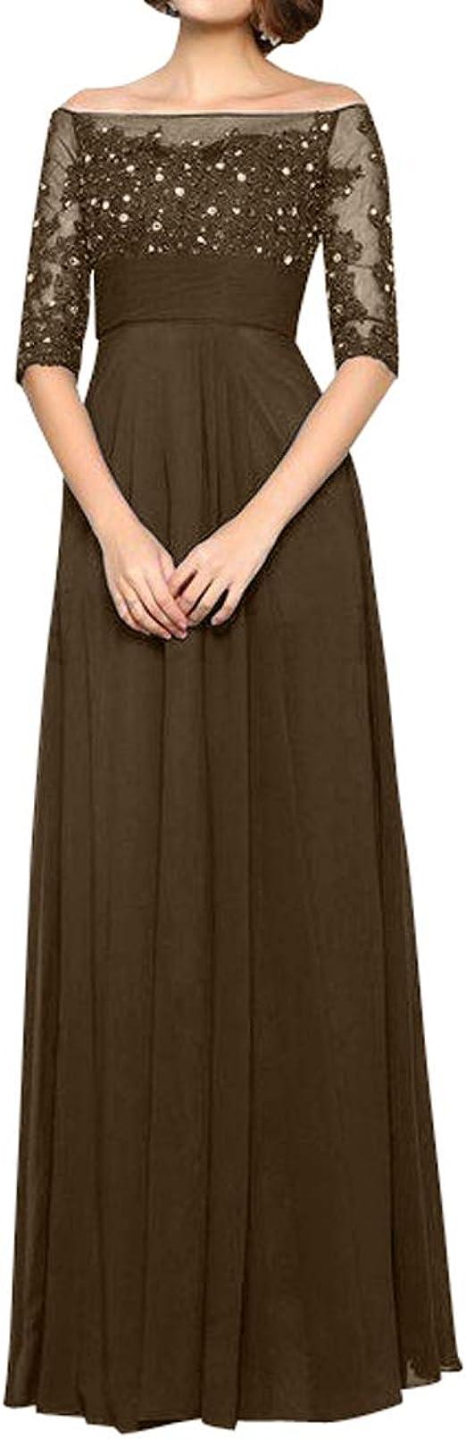 Royaldress Damen hochwertige schulterfrei silberhochzeit Kleider
