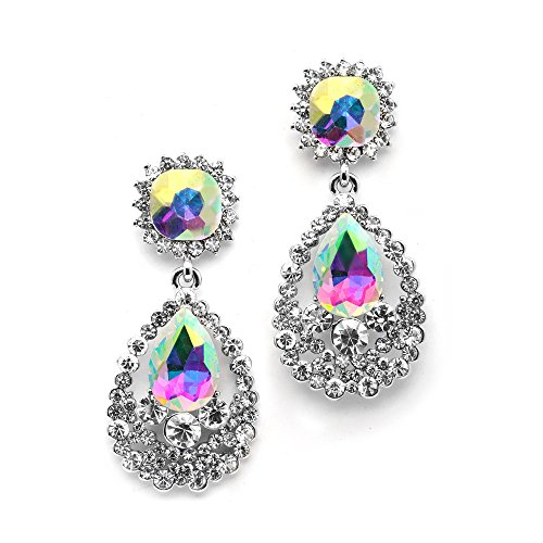 Mariell Sparkling Crystal Dangle Earrings product image