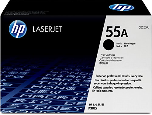 HP 55A (CE255A) Black Original LaserJet Toner Cartridge