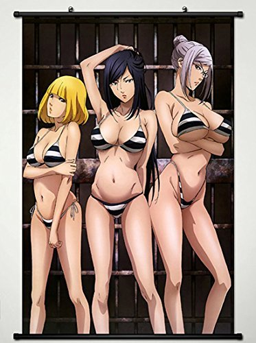 Wall Scroll Poster Fabric Painting For Anime Prison School M