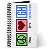 CafePress - General Hospital - Spiral Bound Journal Notebook, Personal Diary, Blank